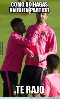 Los memes del clásico Real Madrid-Barcelona: Jornada 9 neymar pique