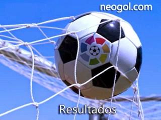 Resultados Jornada 8. Liga Española 2014