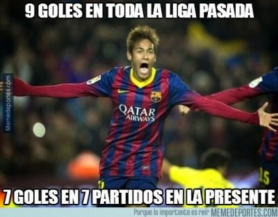 Los mejores memes del Rayo Vallecano-Barcelona neymar