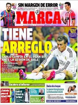 Portada Marca: Bale baja para el clásico