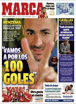 Portada Marca: Iker Casillas se confiesa