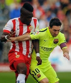Almería 1-Barcelona 2. Jornada 11 Liga Española