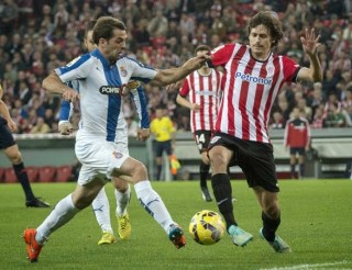 Athletic Bilbao 3-Espanyol 0. Jornada 12 Liga Española