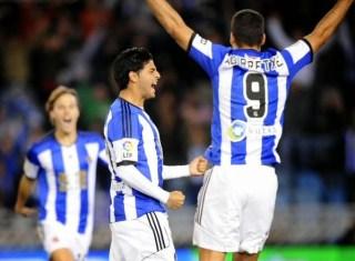 Real Sociedad 3-Elche 0. Jornada 13 Liga Española bbva