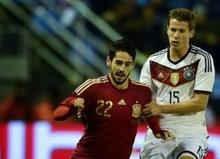España 0-Alemania 1. Amistoso internacional