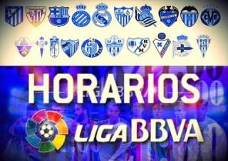 Horarios partidos sábado 22 noviembre: Jornada 12 Liga Española