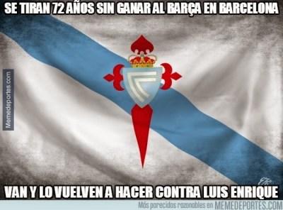Los mejores memes del Barcelona-Celta de Vigo: Liga Española celta de vigo