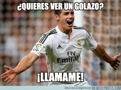 Los mejores memes del Granada-Real Madrid: Liga Española james rodriguez