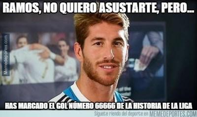 Los mejores memes del Real Madrid-Rayo Vallecano: Liga Española sergio ramos