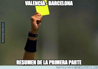 Los mejores memes del Valencia-Barcelona: Liga Española
