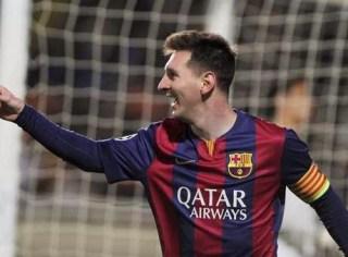 El Barça golea 4-0 al Apoel y Messi supera a Raúl gonzalez maximo goleador champions