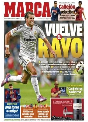 Portada Marca: vuelve Bale