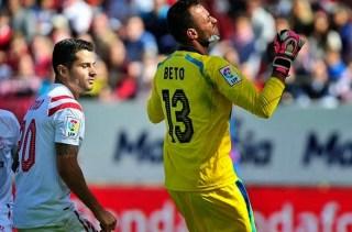 Sevilla 1-Levante 1. Jornada 11 Liga Española