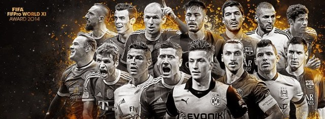 Premios FIFPro 2014: candidatos a mejor delantero