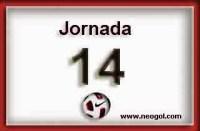 Partidos Jornada 14. Liga Española BBVA 2014