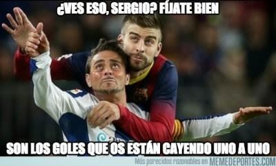 Los mejores memes del Barcelona-Espanyol: Liga Española