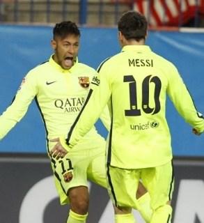 El Barça a semis de Copa del Rey tras vencer al Atlético en el Calderón