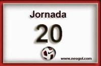 Partidos Jornada 20. Liga Española BBVA 2015