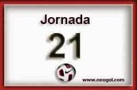 Partidos Jornada 21. Liga Española BBVA 2015