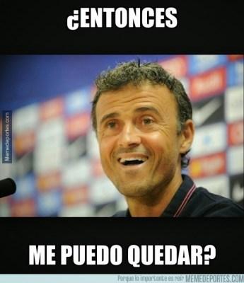 Los mejores memes del Barcelona-Atletico: Liga Española luis enrique