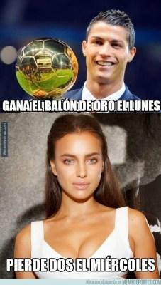 Los mejores memes del Real Madrid-Atlético: Copa del Rey ronaldo irina balon oro