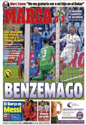 Portada Marca: Benzemago