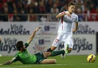 Sevilla 1-Celta de Vigo 0. Jornada 17 Liga Española