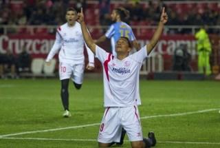 Sevilla 2-Málaga 0. Jornada 19 Liga Española