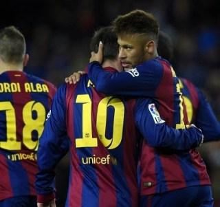 Barcelona 3-Villarreal 2. Jornada 21 Liga Española