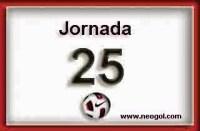 Partidos Jornada 25. Liga Española BBVA 2015