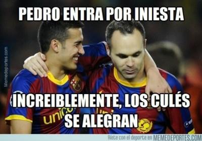 Los mejores memes del Barça-Málaga: Liga Española iniesta pedro