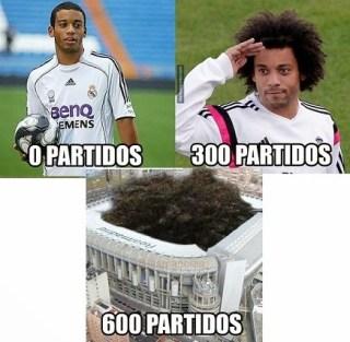 Los mejores memes del Real Madrid-Sevilla: Liga Española marcelo 300 partidos