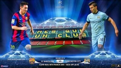 Alineación Barcelona-Manchester City: Octavos Champions