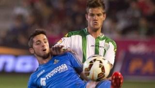Córdoba 1-Getafe 2. Jornada 26 Liga Española