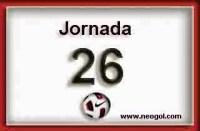 Partidos Jornada 26. Liga Española BBVA 2015