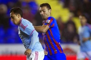 Levante 0-Celta de Vigo 1. Jornada 28 Liga Española
