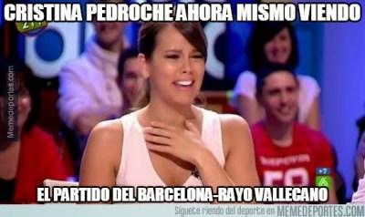 Los mejores memes del Barcelona-Rayo Vallecano: Copa del Rey cristiana pedroche