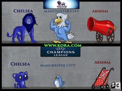Los mejores memes del sorteo de Cuartos de Champions League premier league