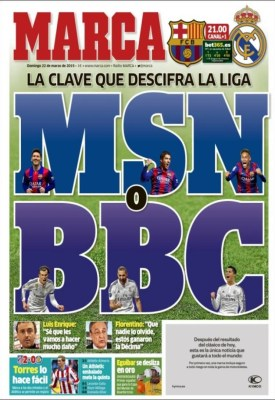 Portada Marca: MSN vs. BBC