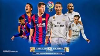 Promo Barça-Real Madrid 2015: El clásico del futbol español
