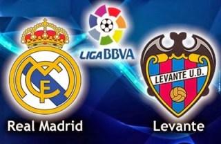 Alineación y la previa Real Madrid-Levante. Jornada 27