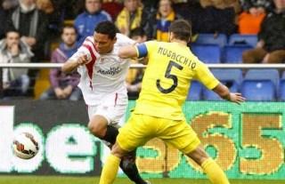 Villarreal 0-Sevilla 2. Jornada 28 Liga Española