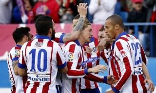 Atlético Madrid 2-Real Sociedad 0. Jornada 30 Liga Española