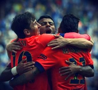 Espanyol 0-Barcelona 2. Jornada 33 Liga Española