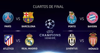 Cuartos Champions League 2015. Partidos de ida