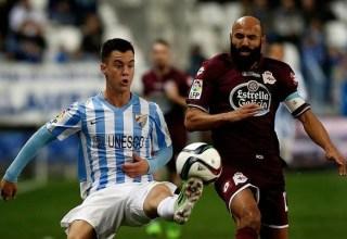 Málaga 1-Deportivo la Coruña 1. Jornada 33 Liga Española