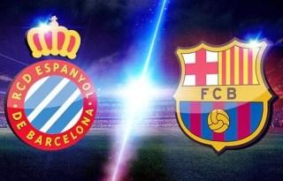 Alineación y la previa Espanyol-Barcelona. Jornada 33