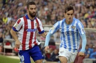 Málaga 1-Atlético Madrid 1. Jornada 31 Liga Española