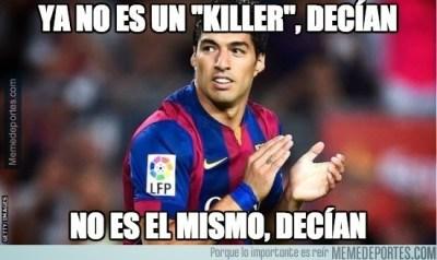 Los mejores memes del Barcelona-Getafe: Jornada 34 suarez