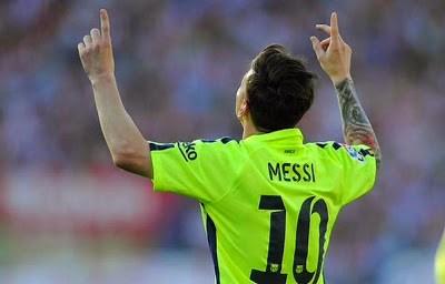 messi festeja gol ante atletico Las mejores imágenes del Barcelona Campeón de Liga Española 2015